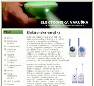 Elektronska varuška